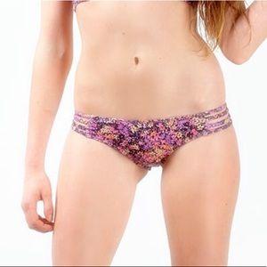 Frankie's Bikinis Swim - Frankie's Bikinis Strappy Floral Print Set
